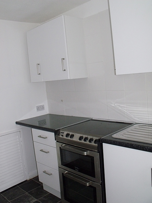 WE USE BASIC KITCHENS IN RENTED PROPERTIES